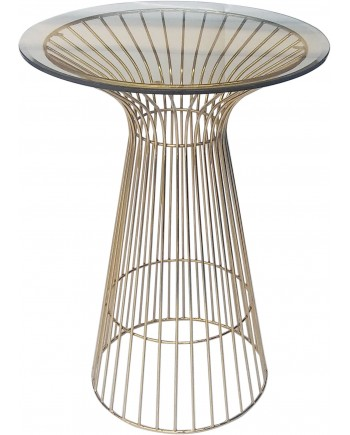 Wire Highboy (Gold)