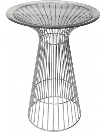 Wire Highboy (Silver)