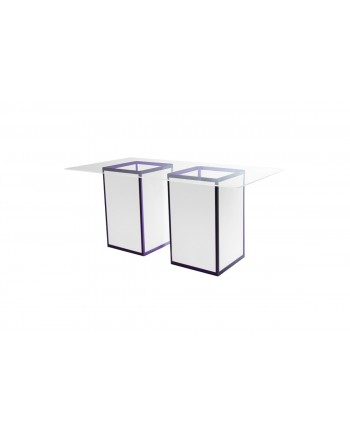 Skyline Highboy (Royal) (Clear Top)