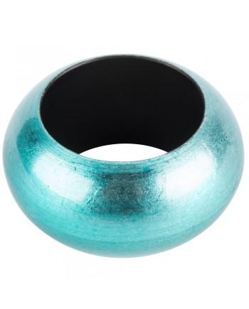 Turquoise Round Acrylic Napkin Ring