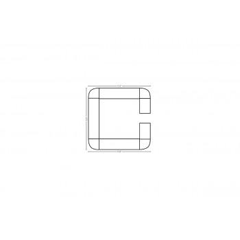 Modular Bar C Shape 12.5' x 12.5'