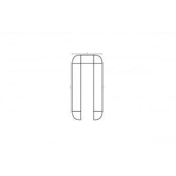 Modular Bar U Shape 12.5' x 12.5'
