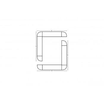 Modular Bar O Shape 16' x 16'