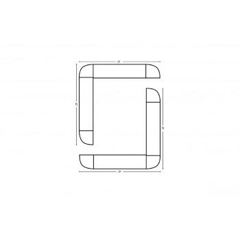 Modular Bar O Shape 20' x 20'