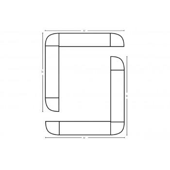 Modular Bar O Shape 32' x 32'