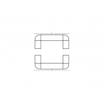 Modular Bar Square 16' x 16'