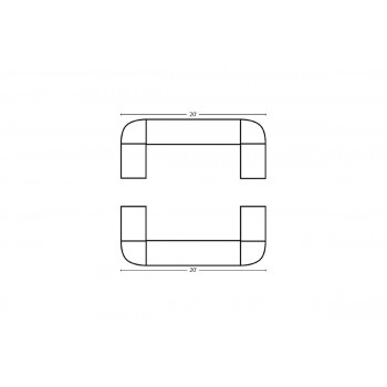 Modular Bar Square 20' x 20'