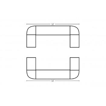 Modular Bar Square 32' x 32'
