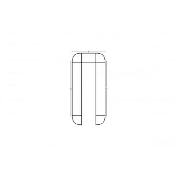 Modular Bar U Shape 16' x 16'