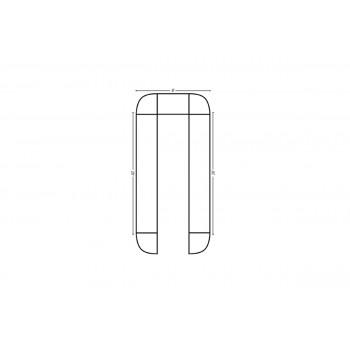 Modular Bar U Shape 20' x 20'