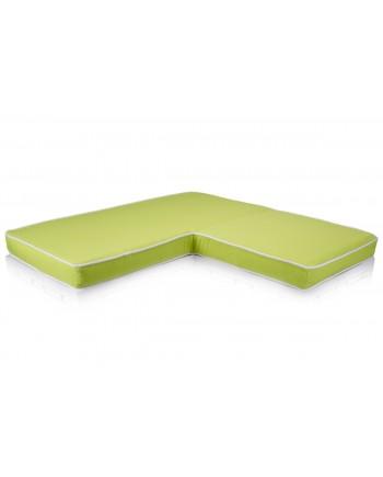 Maze L Shape Cushion Lime Green 36x36x18x4