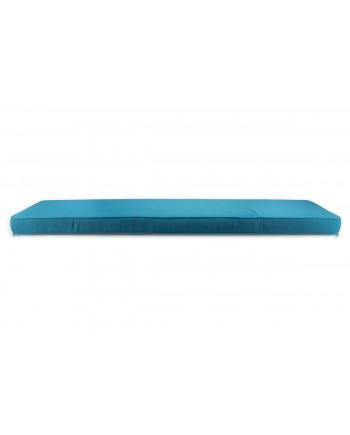 Maze Bench Cushion Turquoise