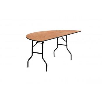 "Tables Half moon 60"""