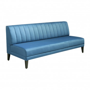 "GH Infinito ""A"" Straight Sofa (Cobalt Blue)"