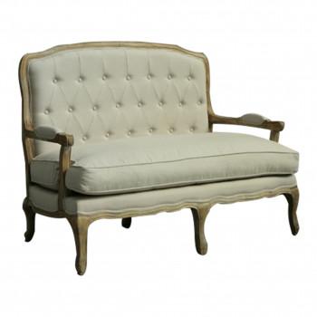 GH Paris Settee Sofa (Oak)