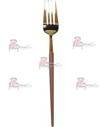 GOA Dinner Fork (Gold-Rose Gold)