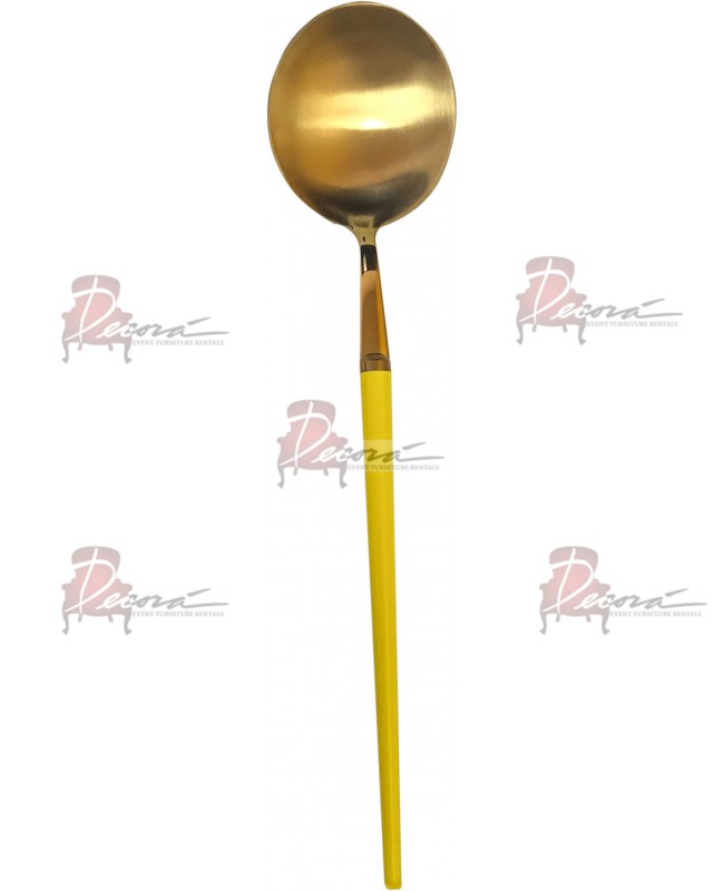 GOA Dinner Spoon (Gold-Yellow)