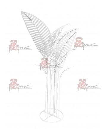 Metal Palm Tree (Silver)