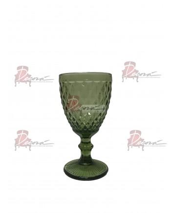 Capri Water Glassware (Olive) (25 Rack)