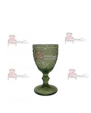 Capri Wine Glassware (Olive) (25 Rack)