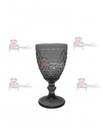 Capri Water Glassware (Black) (25 Rack)