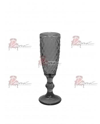 Capri Champagne Flute (Black) (36 Rack) Glassware