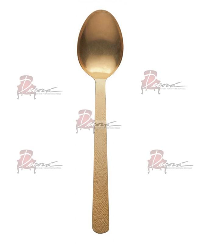 Spoon Server Gold