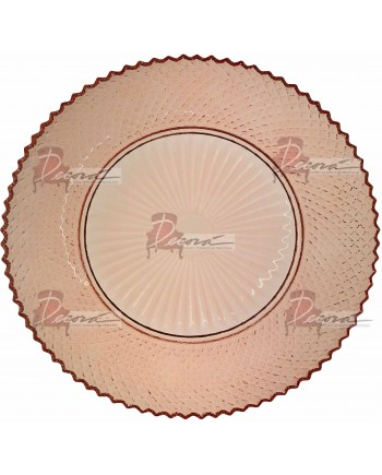 Roselyn Rose Charger Plate (Blush)