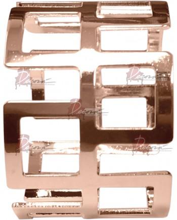 Napkin Ring Cubes (Rose Gold)