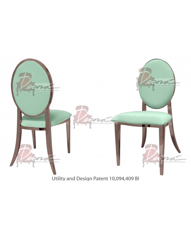 Tiffany Chair (Rose Gold-Mint)