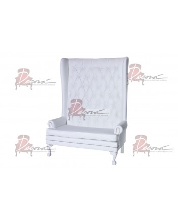 Imperial Love Seat (White)