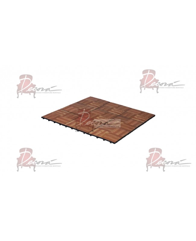 Dance Floor Parquet '1x1' (Snap Lock)