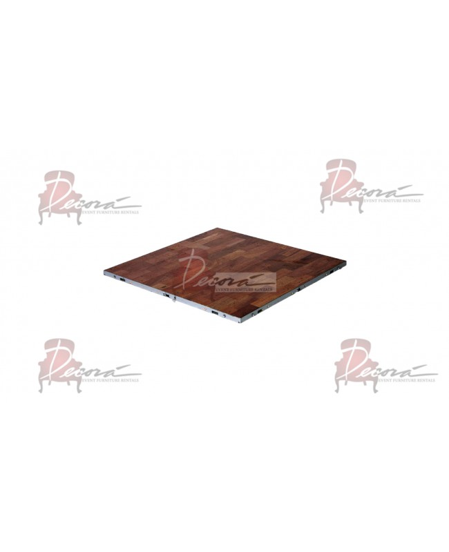 Dance Floor Parquet Indoor 3'x3' (Forbes)