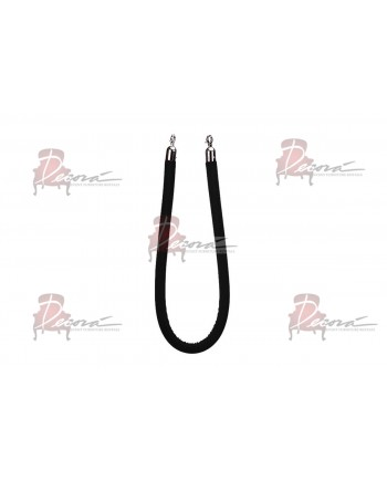 Stanchion Black Rope