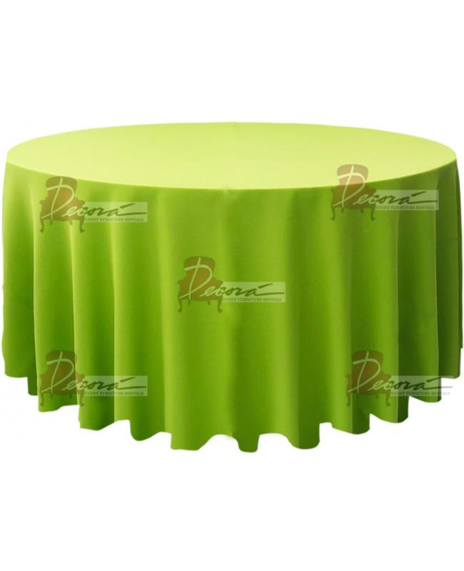 Polyester Apple Green