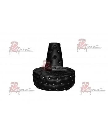 Glitz Banquette (Round) (Black)