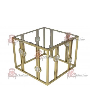 Reflection Coffee Table Glam (Square) (Gold)