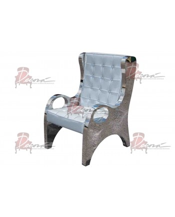 Reflection Armchair (Modern) (Silver)