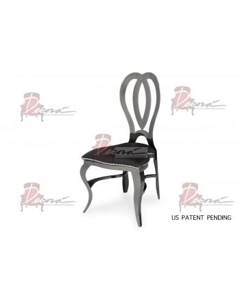 Halexandria Chair (Gun Metal-Black)