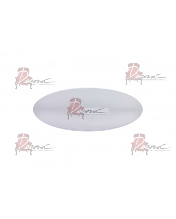 "Glass Clear Top 48""x96"" D (Oval)"