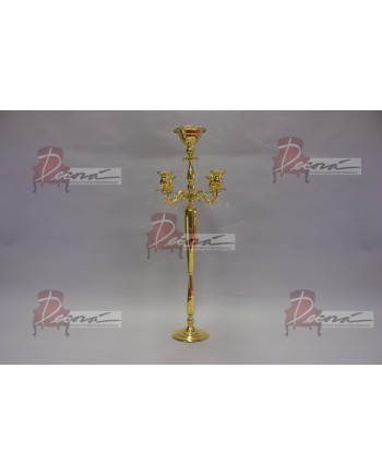 "Four Arm Candelabra (Gold) (47"")"
