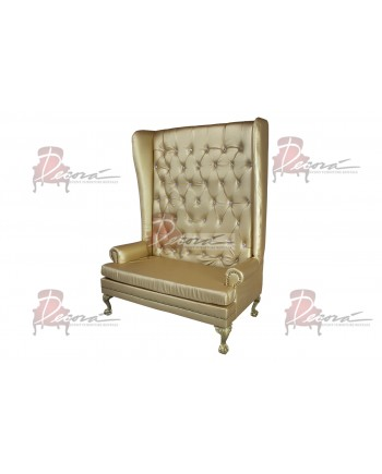 Imperial Love Seat (Gold)