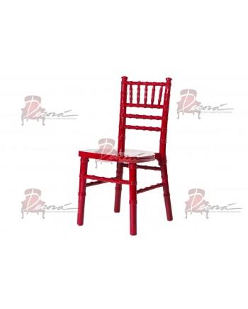 Kid Chiavari Chair (Red)