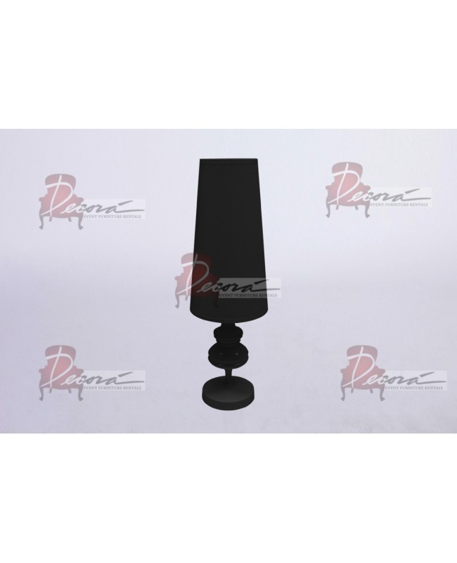 Glam Lamp (Small) Black