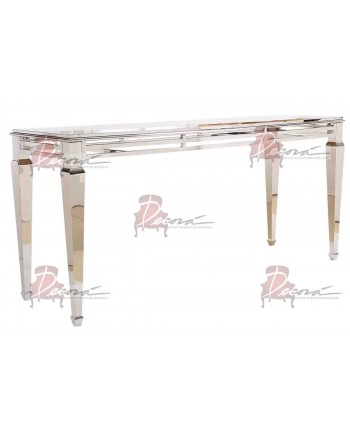 "Reflection HighBoy Table (Silver) 30"" x 96"""