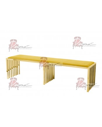Reflection Bench Art Deco (Gold)
