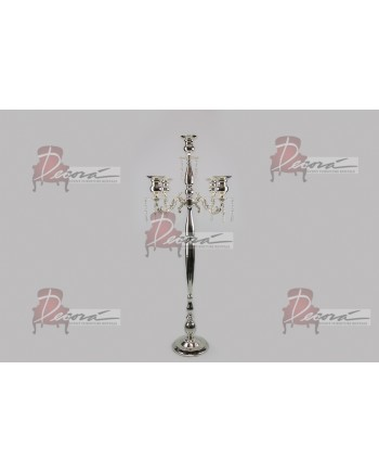 "Four Arm Candelabra (Silver) (42"")"