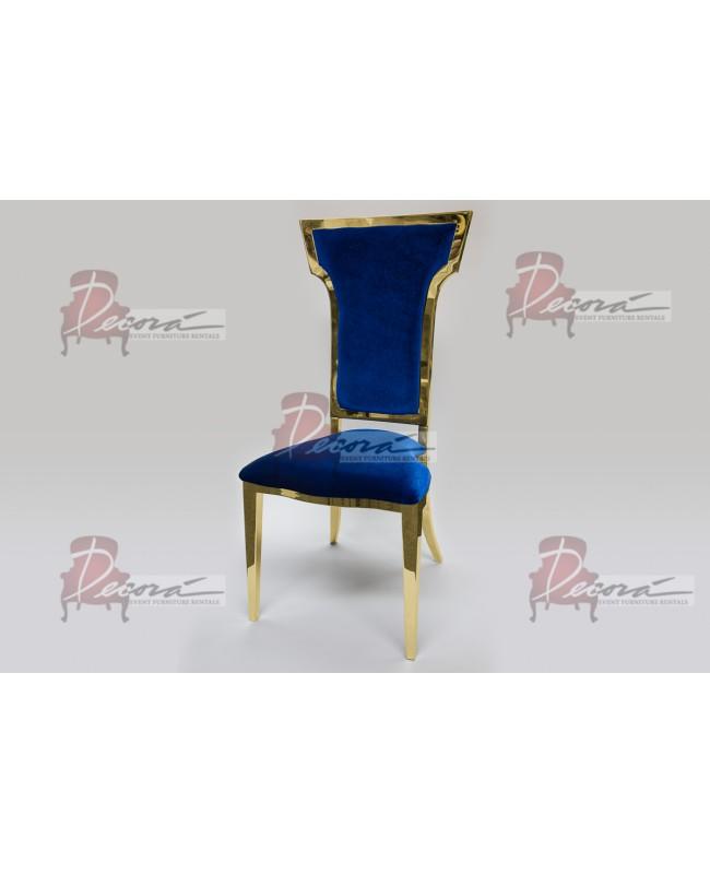 Cornelius Chair (Gold-Yellow)
