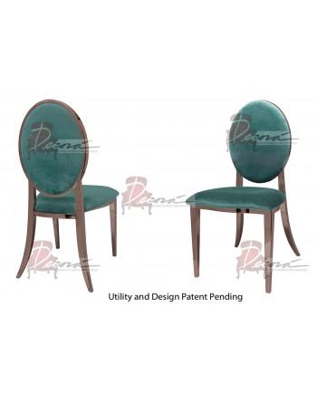 Tiffany Chair (Rose Gold-Tiffany)