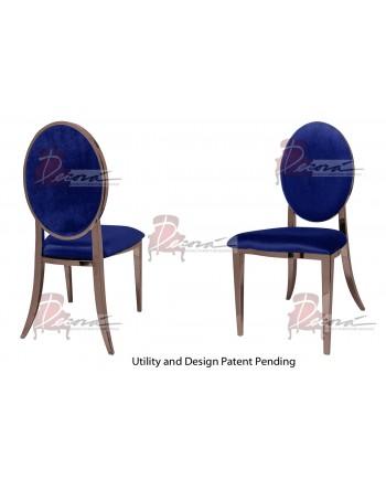 Tiffany Chair (Rose Gold-Royal)
